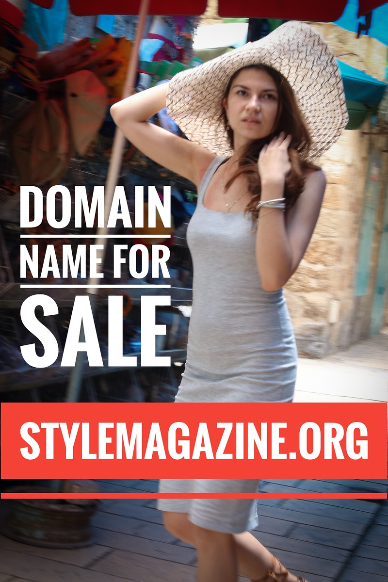 StyleMagazine.org, domain name for sale