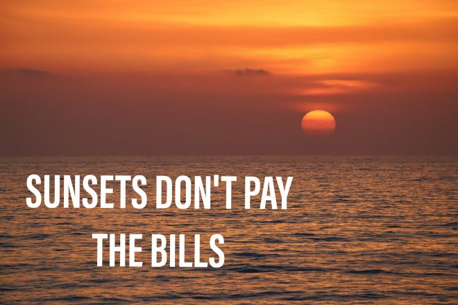 PhotoMeme.org: Sunsets don't pay the bills